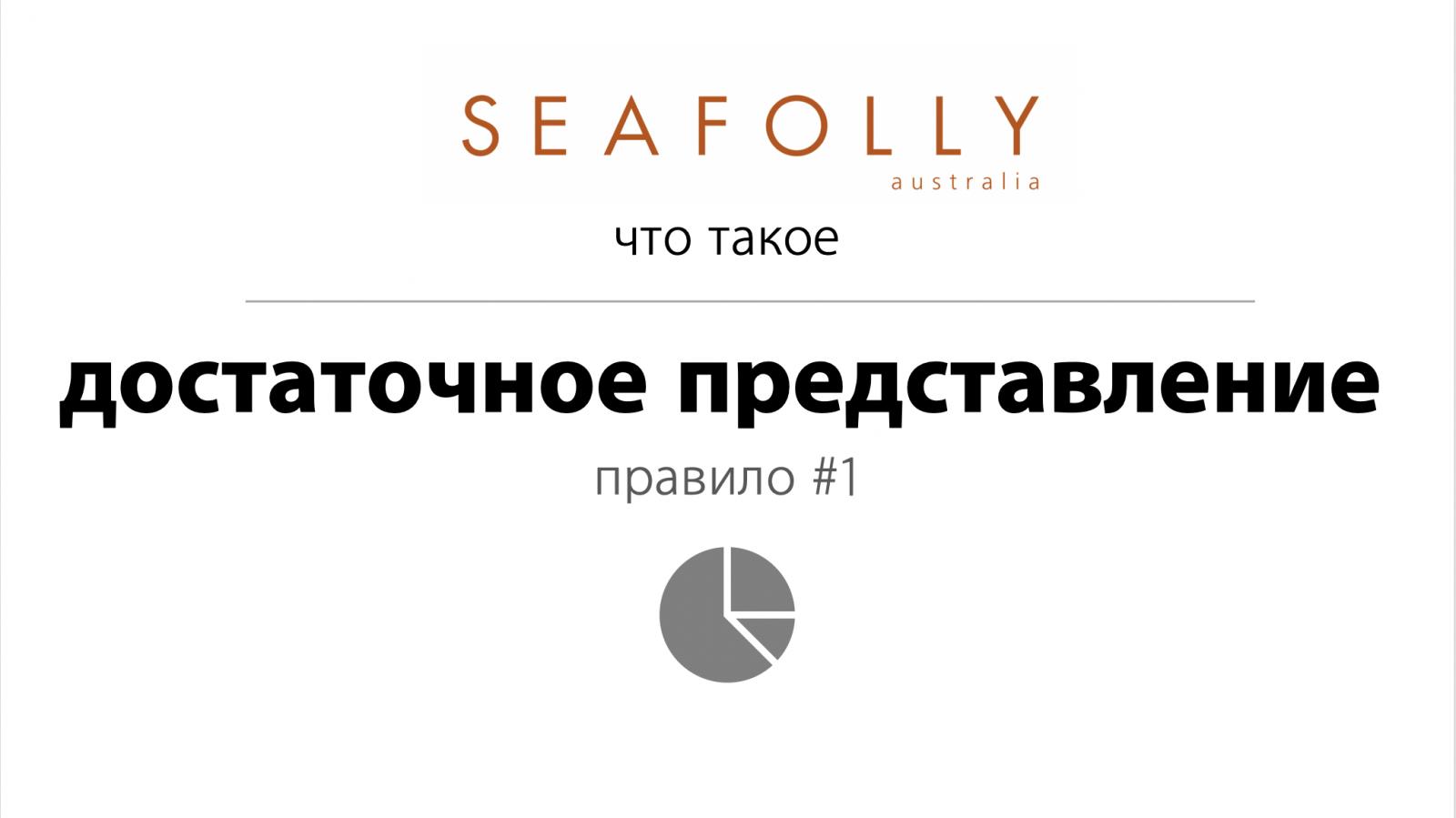 SF21-1 SEAFOLLY