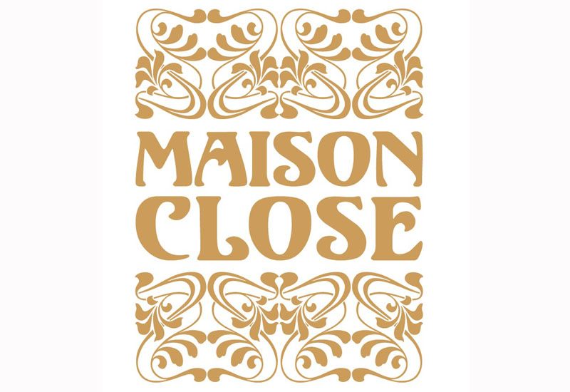 50863 Maison Close Logo web - Maison Close in VOGUE Russia